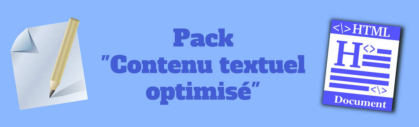pack contenu textuel optimise